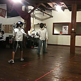 Fencing!