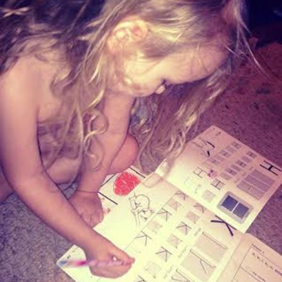 More naked floor schooling.
