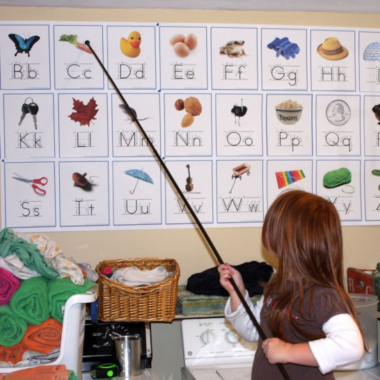 Learning in the Laundry Room